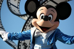 Mickey Mouse at the Disney World Parks