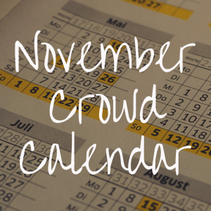 Disney World Crowd Calendar for November