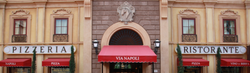 Via Napoli at Disney World