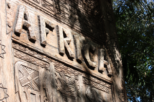 Entering Africa at the Animal Kingdom