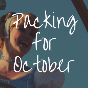 What to Pack for Disney World in October