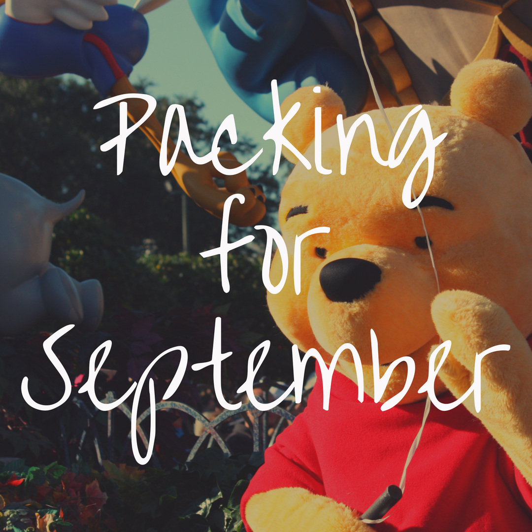 What to Pack for Disney World in September