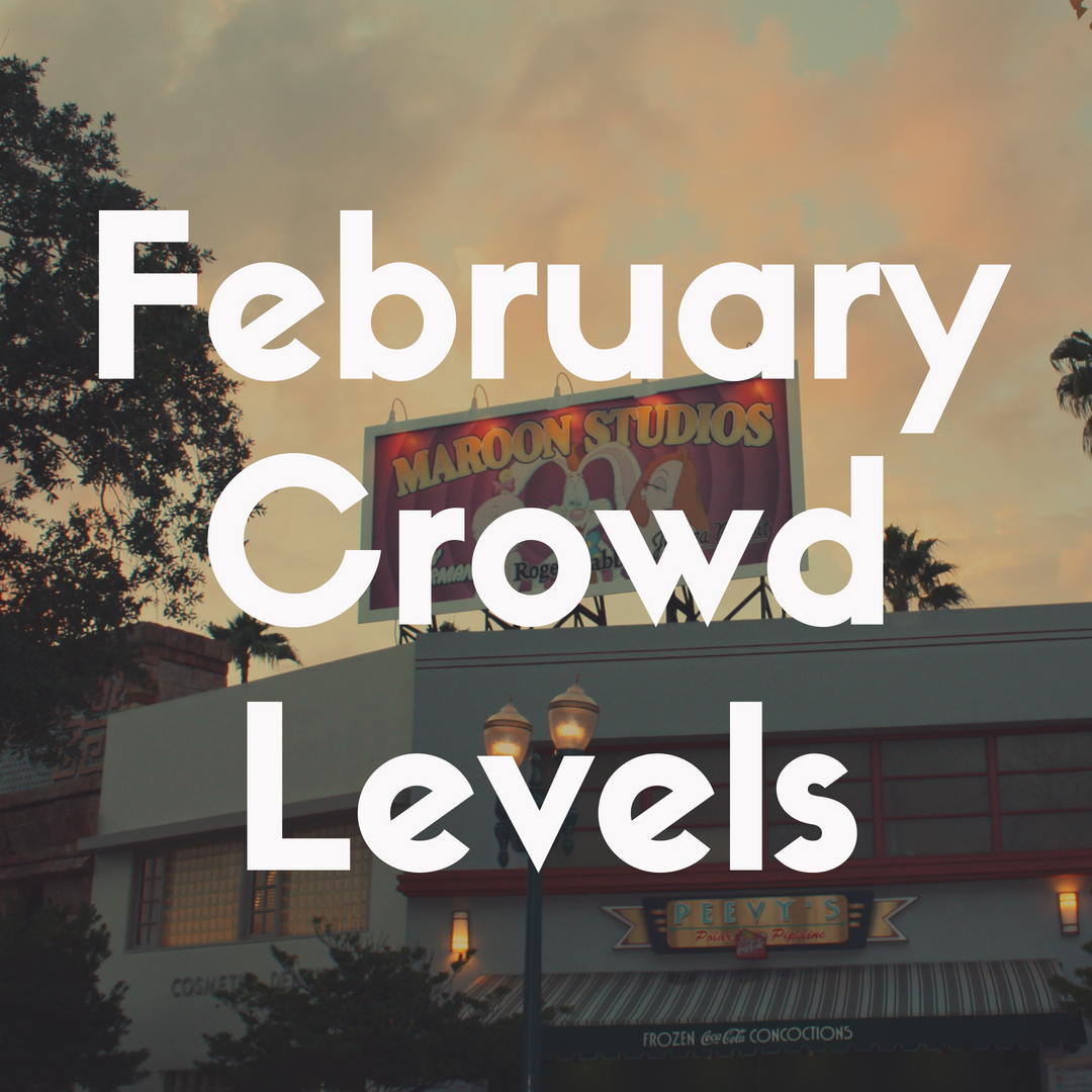 Crowd Levels at Disney World in February