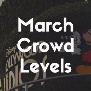 Crowd Levels at Disney World in March