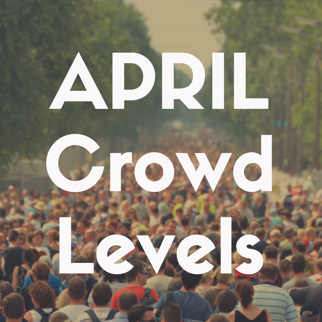 Crowd Levels at Disney World in April