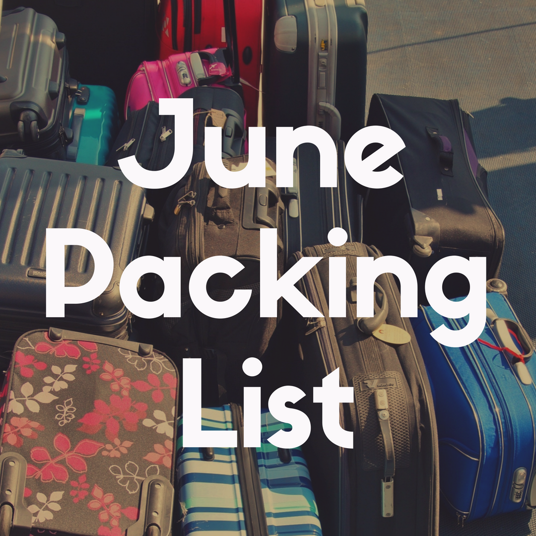 Disney World Packing List for June