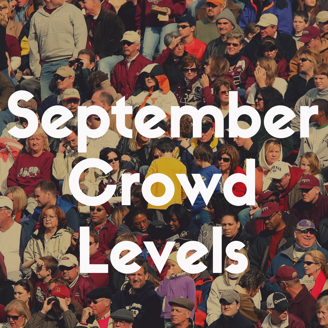 Crowd Levels at Disney World in September