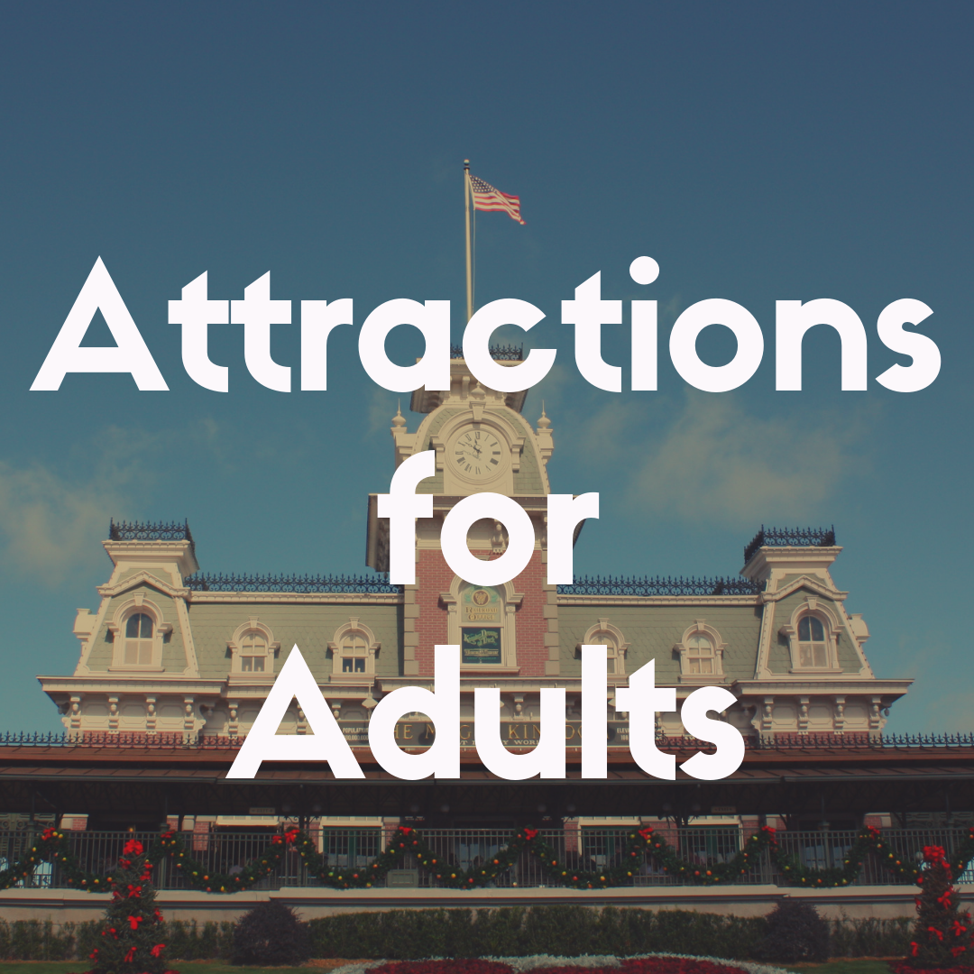 12 Disney World Attractions for Adults That Are Amazing