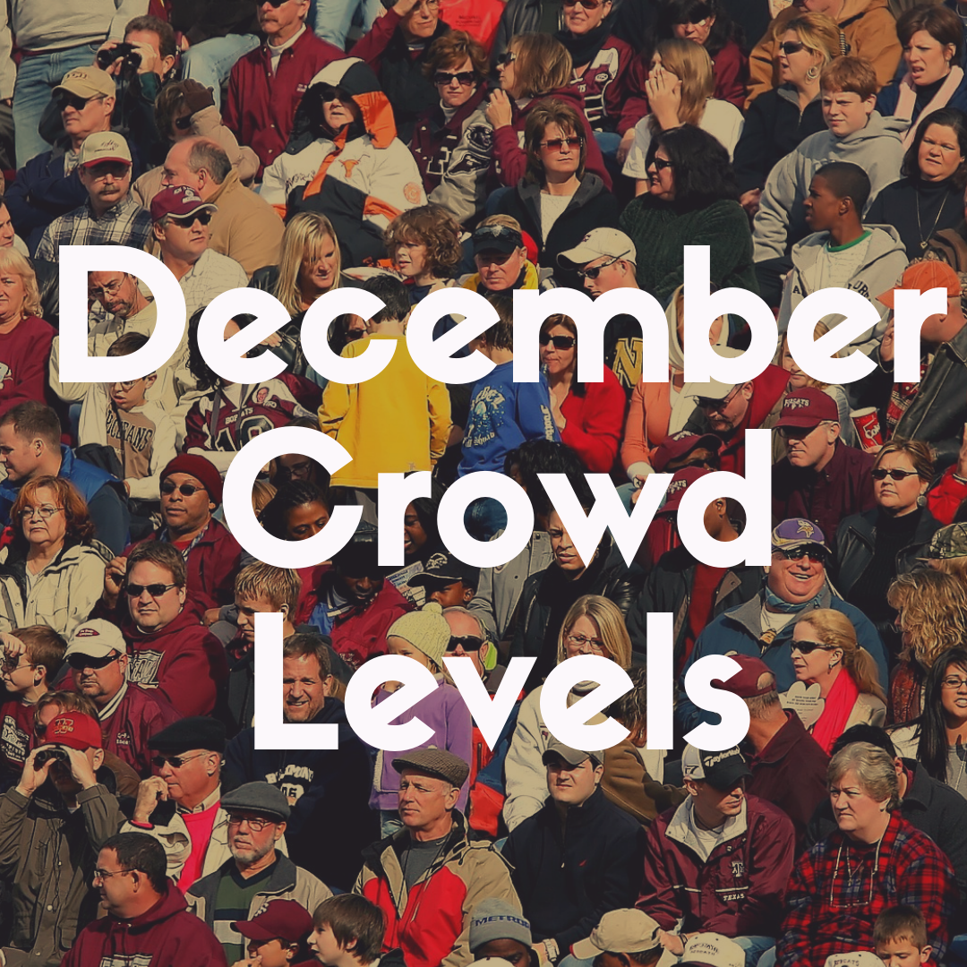Crowd Levels at Disney World in December