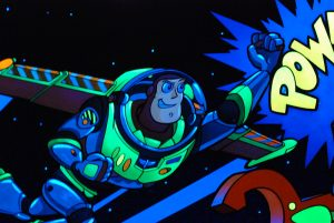 Buzz Lightyear's Space Ranger Spin ride review