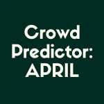 Check out our Disney World crowd predictor for April!