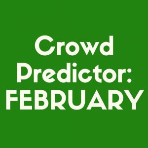 Check out our Disney World crowd predictor in February