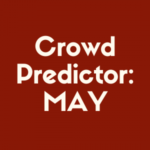 Check out our Disney World crowd predictor for May