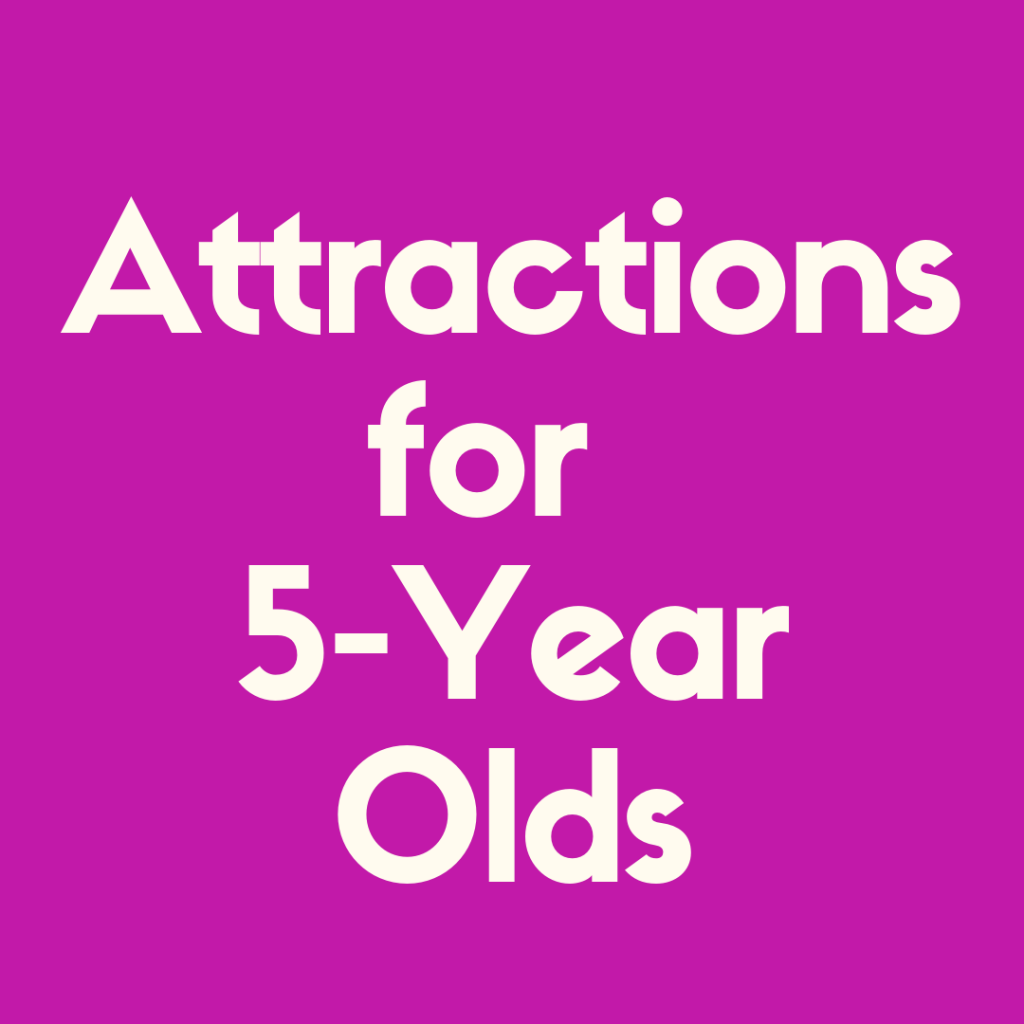 Check out our list of the 7 best Disney Attractions for 5 Year Old's!