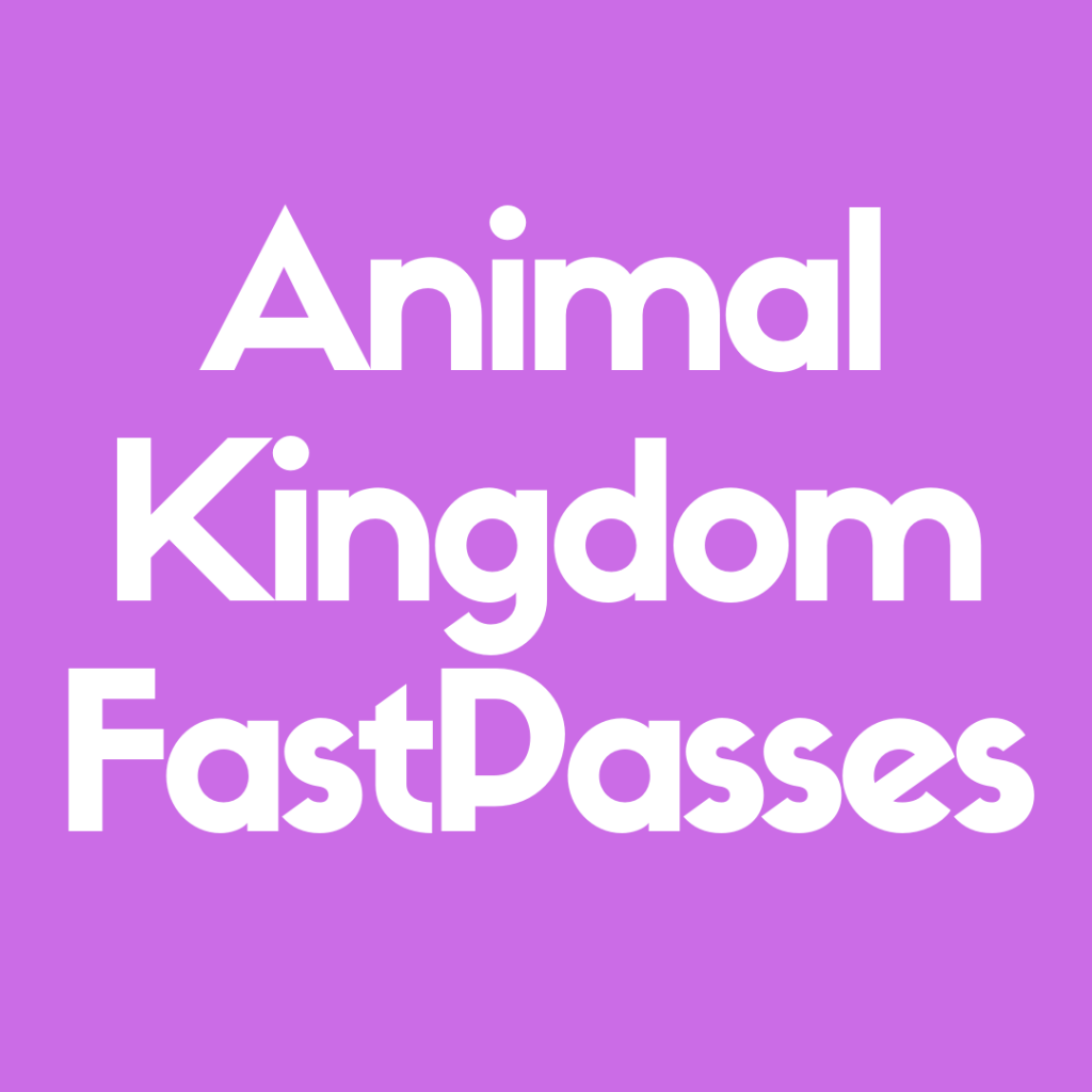 Discover the 10 Most Popular FastPasses at Animal Kingdom