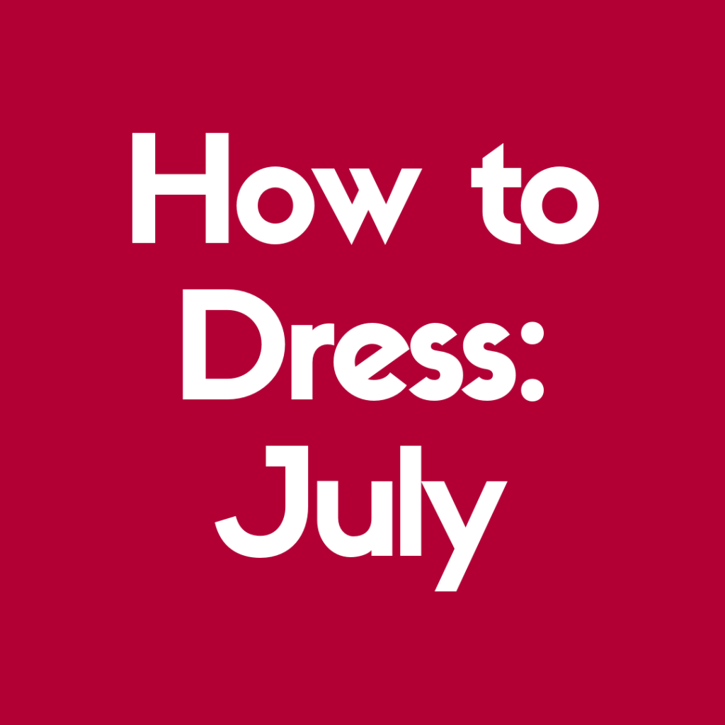 How to Dress For Disney World in July