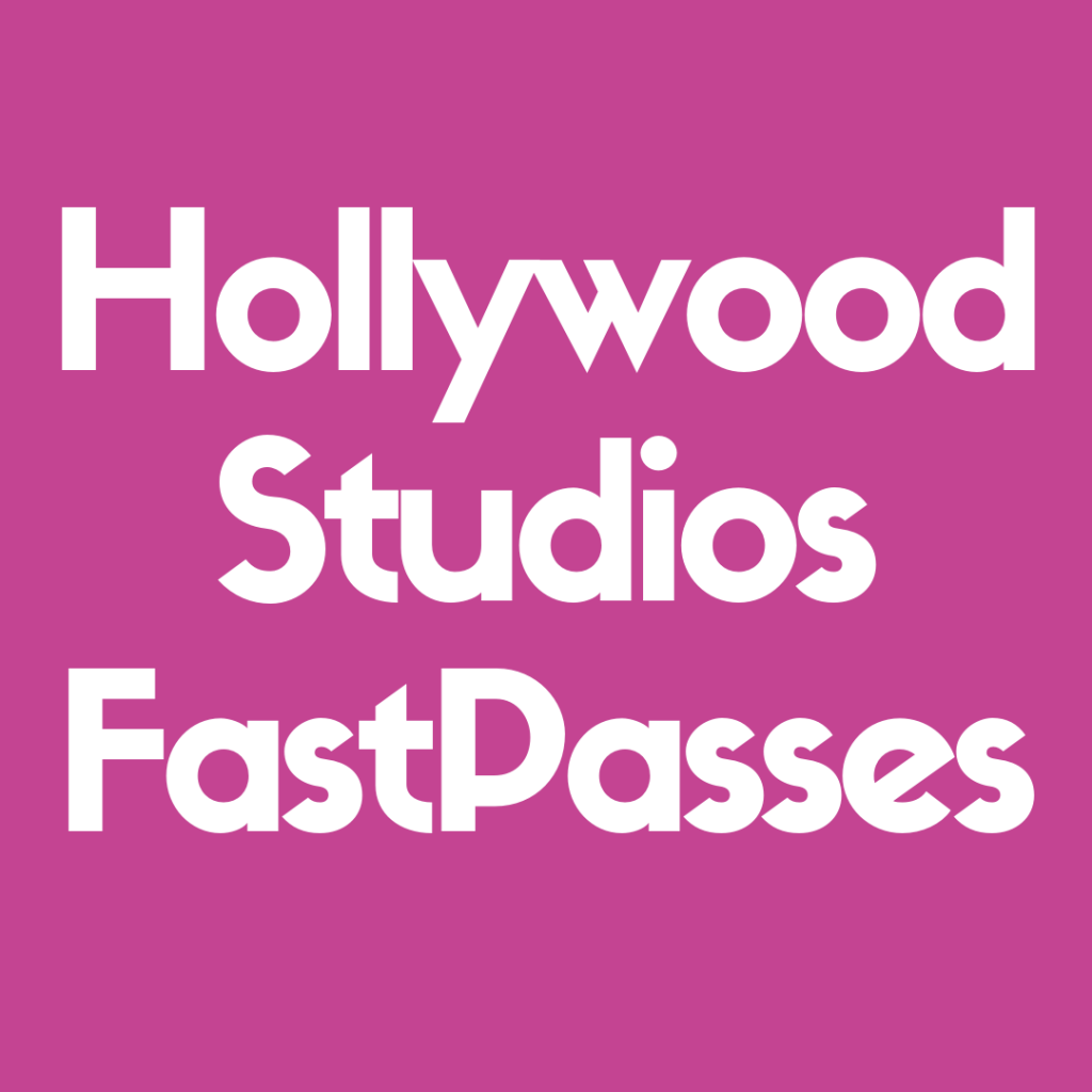 Find out the top FastPasses at Hollywood Studios you can get!