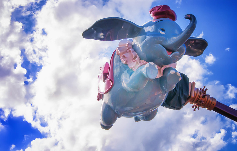 Dumbo the Flying Elephant ride review