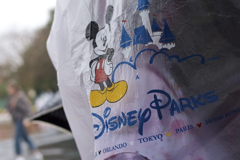 Always make sure to pack a Disney World poncho in August