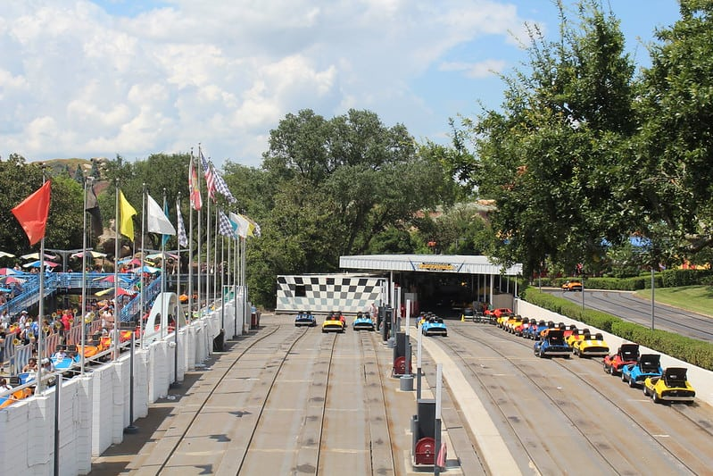 Tomorrowland Speedway ride review